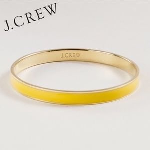 J. Crew Yellow Enamel Bracelet
